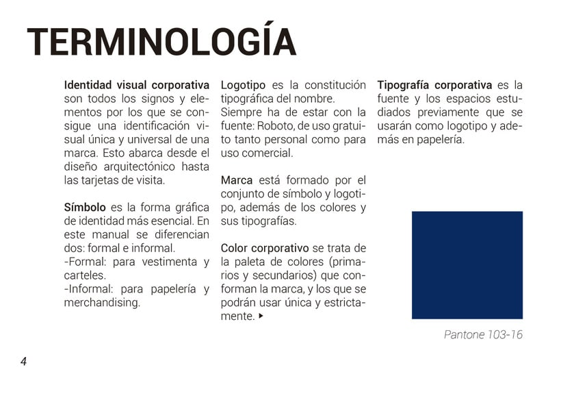Manual de identidad corporativa C.D.A. Los 100 Metros 1