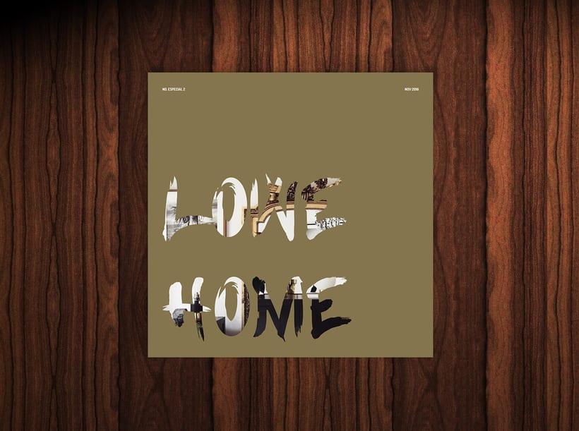 Diseño revista LOWE HOME 0
