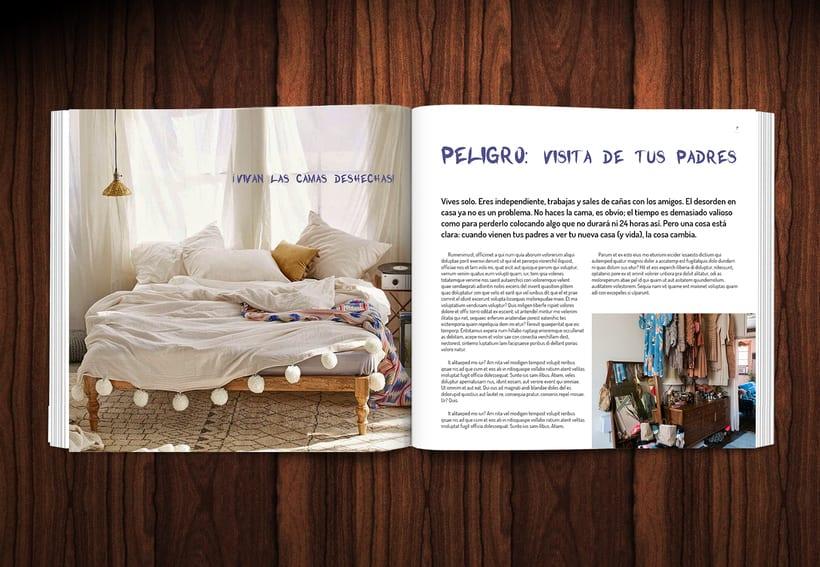 Diseño revista LOWE HOME 4