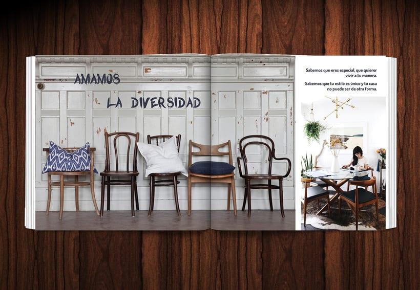 Diseño revista LOWE HOME 5