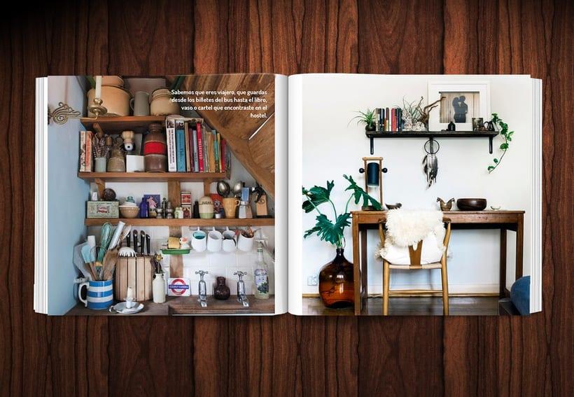Diseño revista LOWE HOME 6