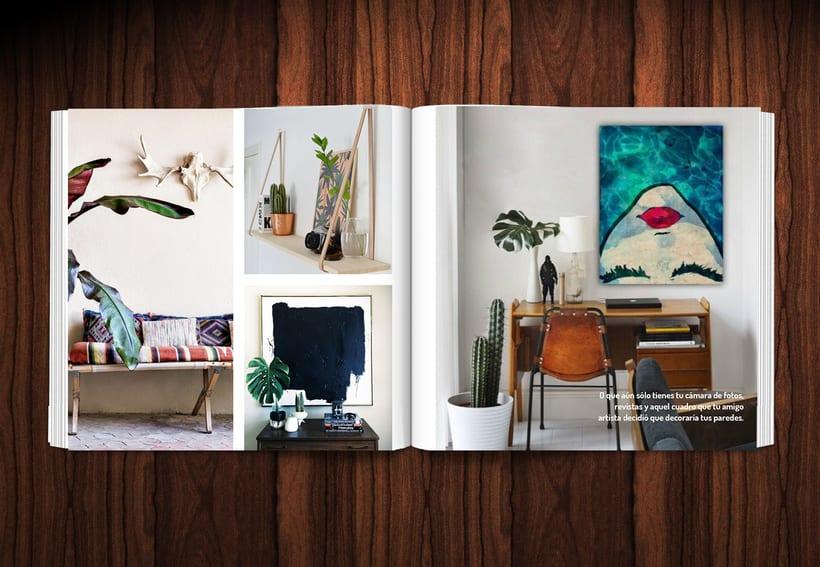 Diseño revista LOWE HOME 7