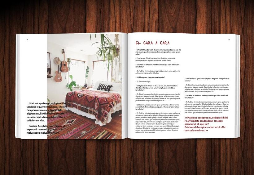 Diseño revista LOWE HOME 9