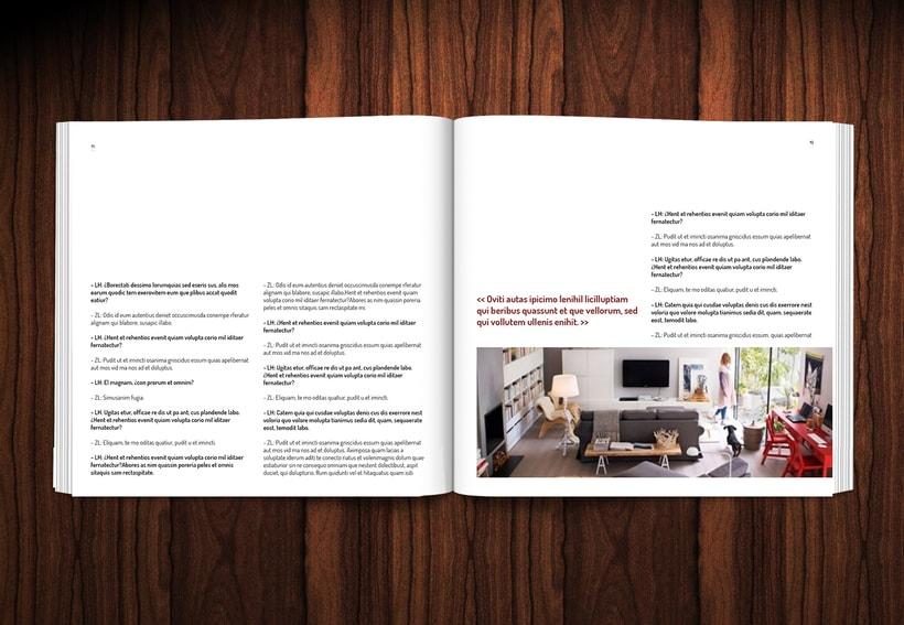 Diseño revista LOWE HOME 10