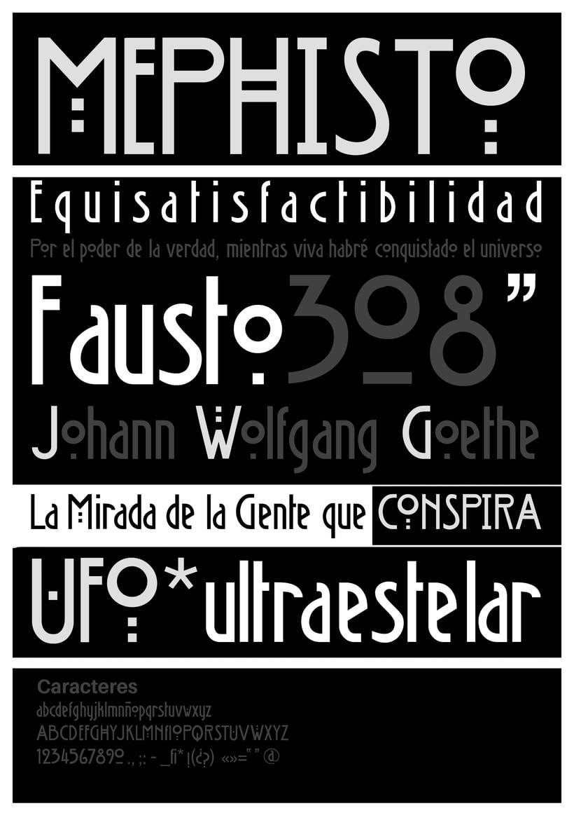 Mephisto Font 1