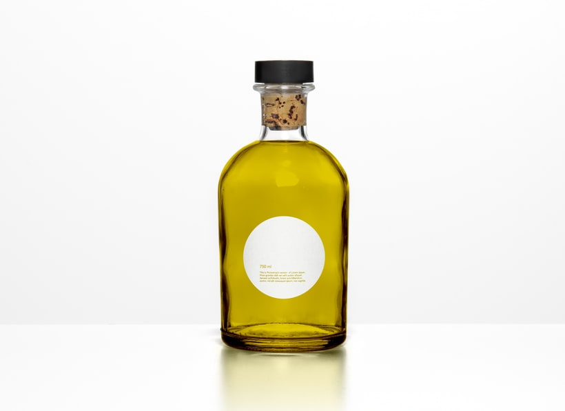 Diseño packaging aceite AURUM 2