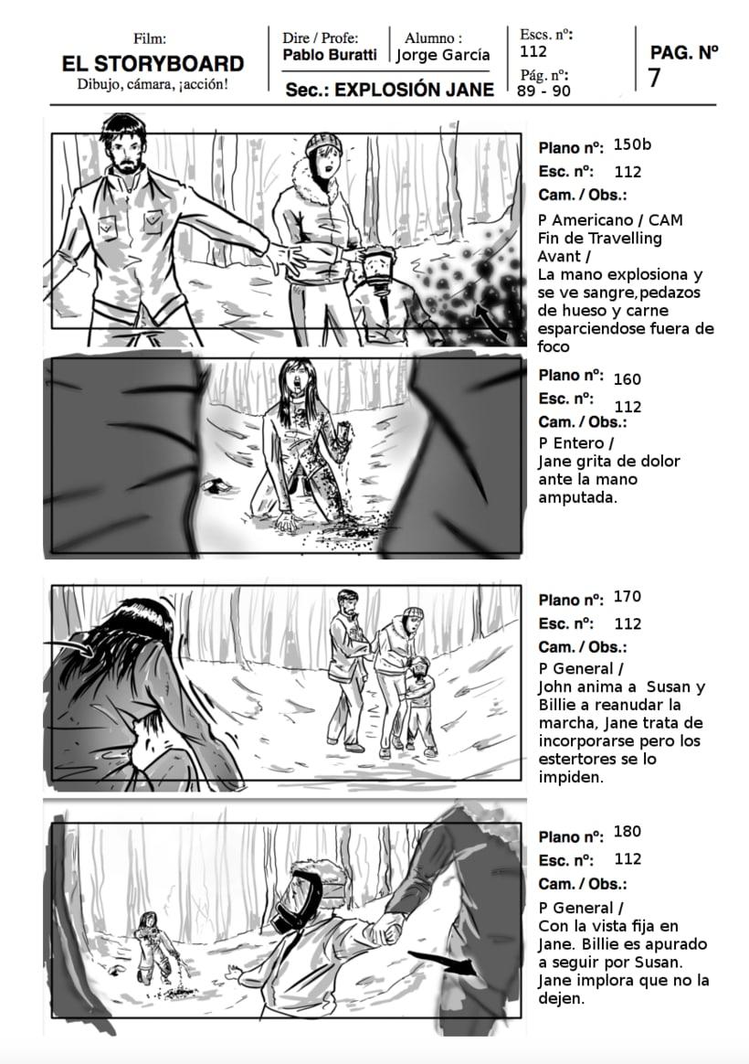 Mi Proyecto del curso: Ilustración de storyboards para Cine y Publicidad 2