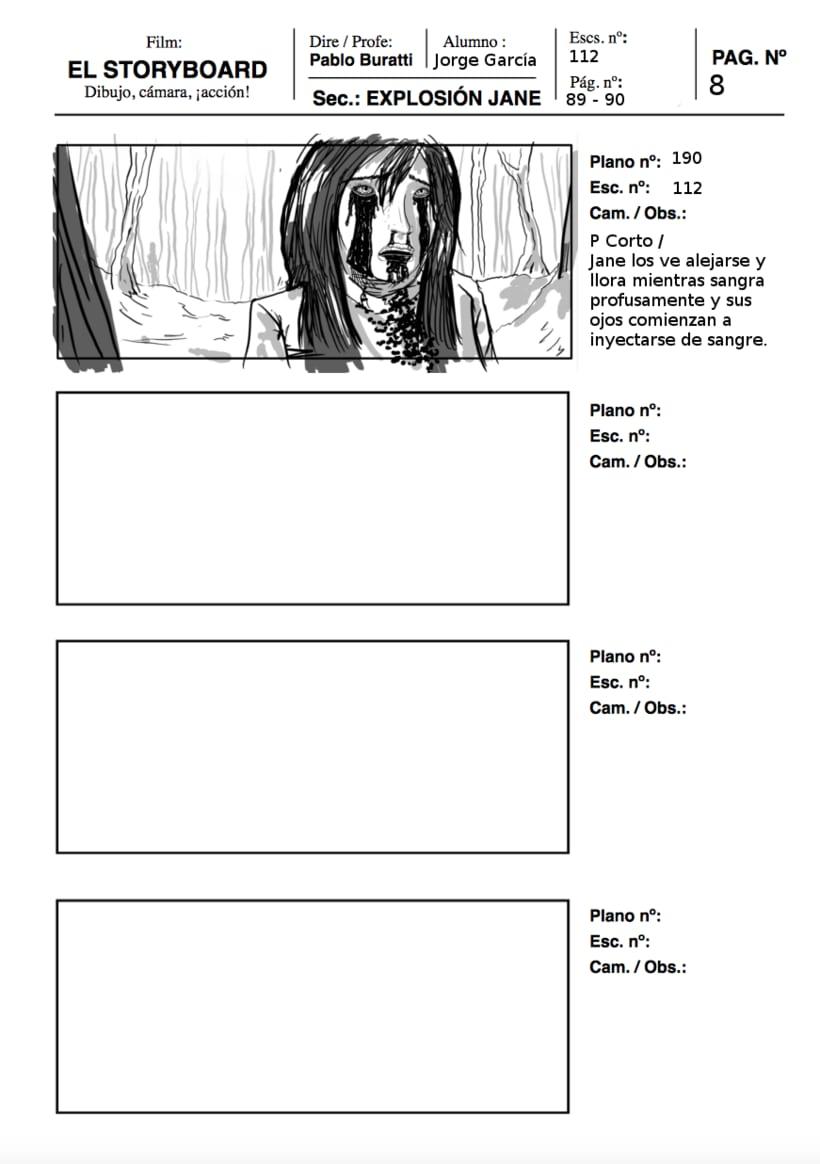 Mi Proyecto del curso: Ilustración de storyboards para Cine y Publicidad 3