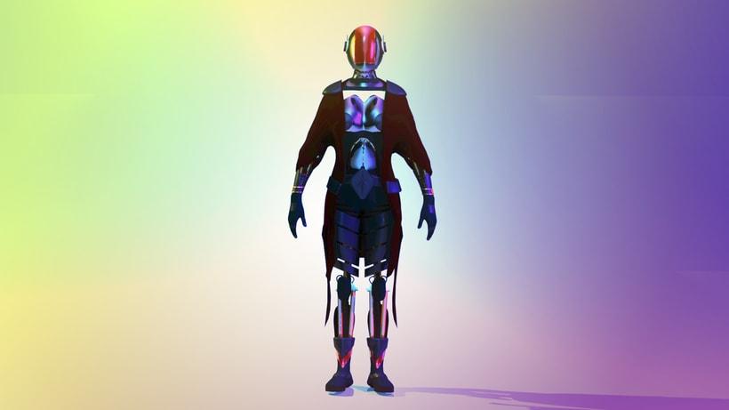 Modelado Cyberwoman 1