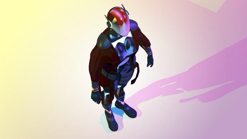 Modelado Cyberwoman 2