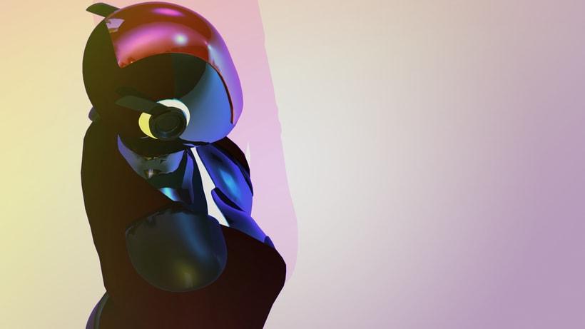 Modelado Cyberwoman 3