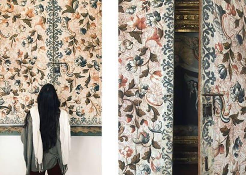 Texturas. Inspiradas en retablo del Museo del Carmen Alto, Quito - Ecuador. 0