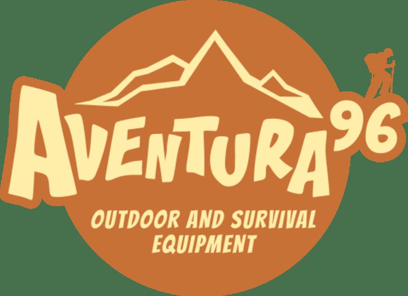 Diseño del logotipo Aventura 96 0
