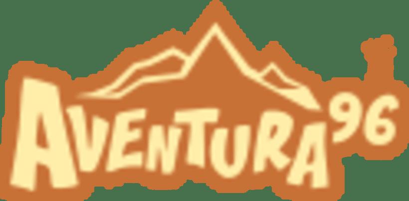 Diseño del logotipo Aventura 96 2