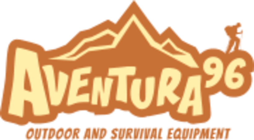 Diseño del logotipo Aventura 96 1