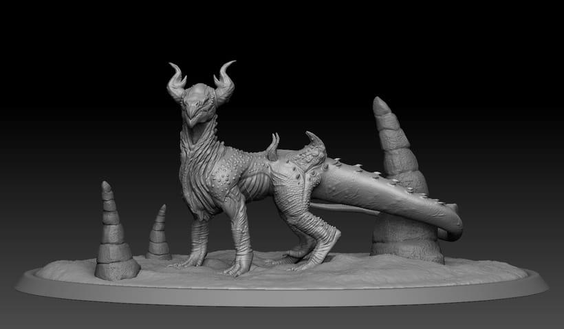 Criatura 3D -1