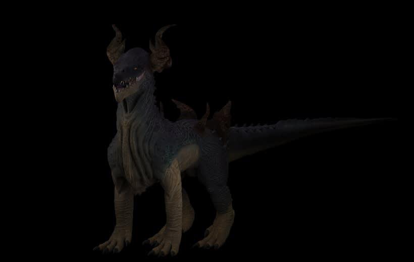 Criatura 3D 1