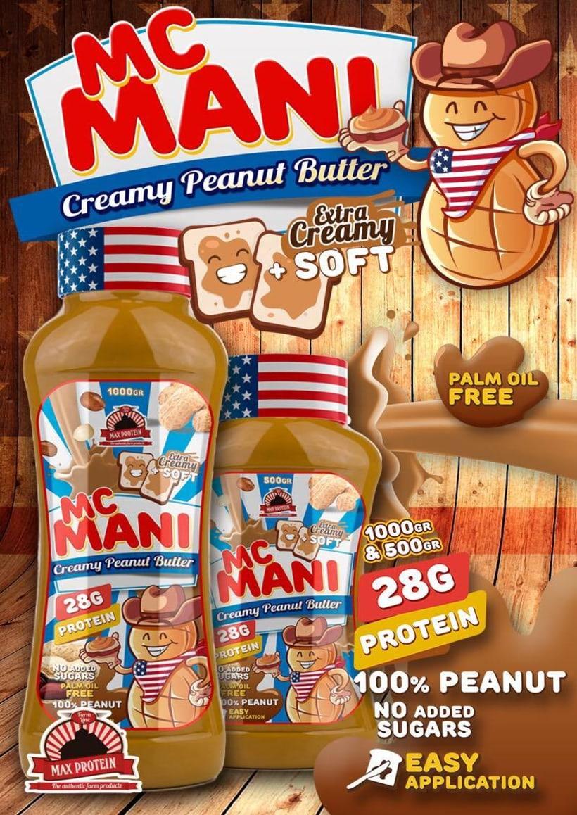 Mascotas publicitarias Max protein 2
