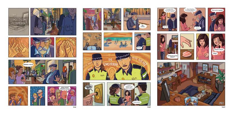 Mi Proyecto del curso: El cómic es otra historia - Donde duerme tu memoria 6