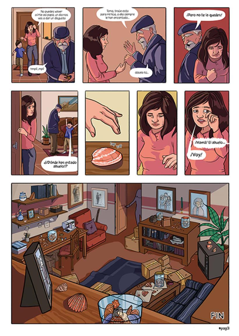 Mi Proyecto del curso: El cómic es otra historia - Donde duerme tu memoria 2