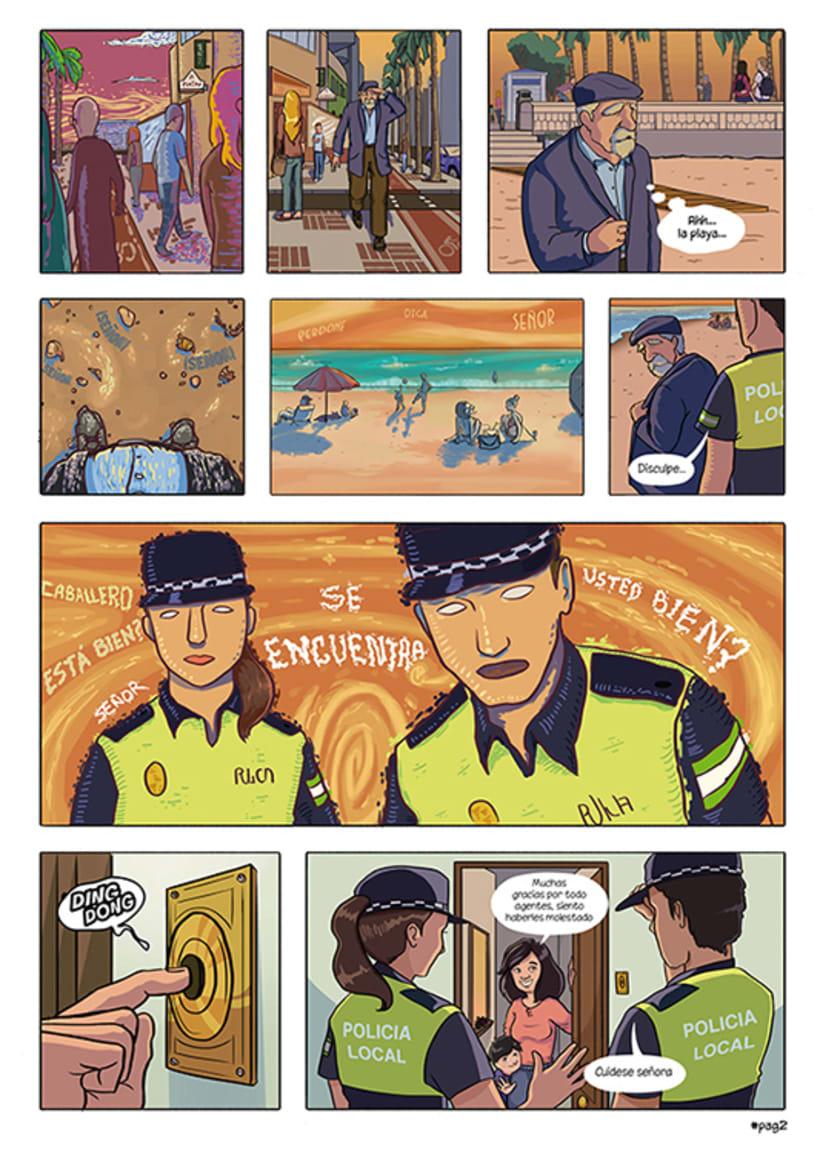 Mi Proyecto del curso: El cómic es otra historia - Donde duerme tu memoria 1