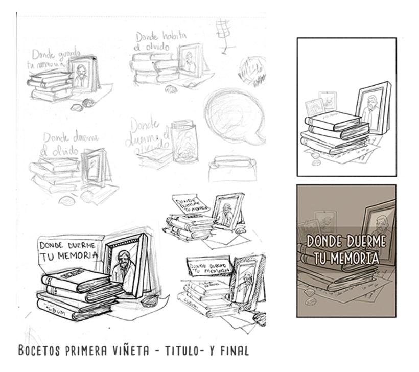 Mi Proyecto del curso: El cómic es otra historia - Donde duerme tu memoria 5