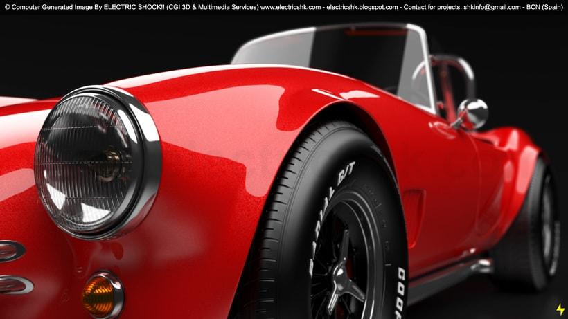 AC Shelby Cobra CGI 3D Vista Nueva 0
