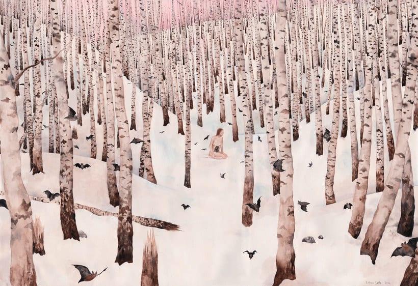 El surrealismo pictórico de Esther Sarto 3