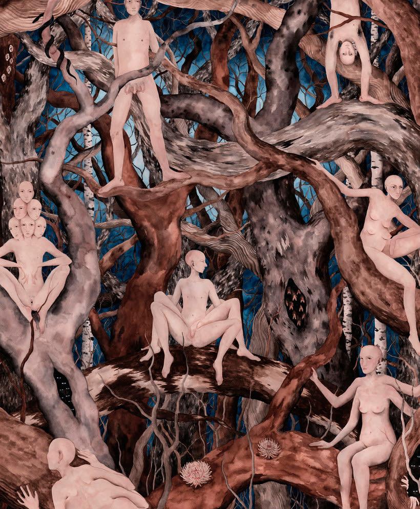 El surrealismo pictórico de Esther Sarto 5