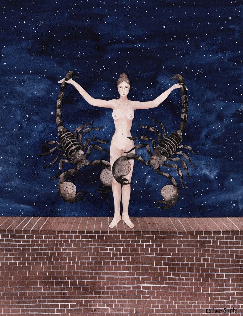 El surrealismo pictórico de Esther Sarto 8