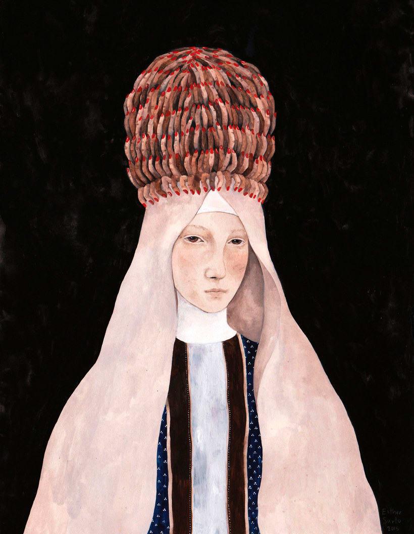 El surrealismo pictórico de Esther Sarto 10