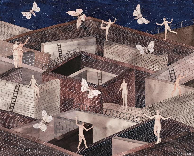 El surrealismo pictórico de Esther Sarto 12