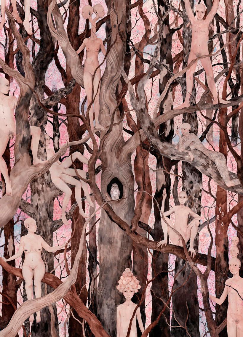 El surrealismo pictórico de Esther Sarto 13