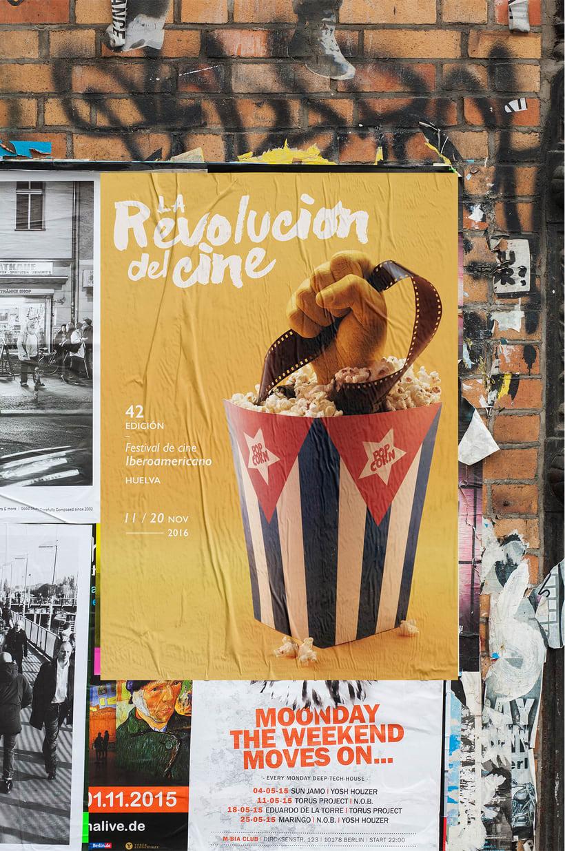 Festival de cine Iberoamericano · La Revolución del cine 5