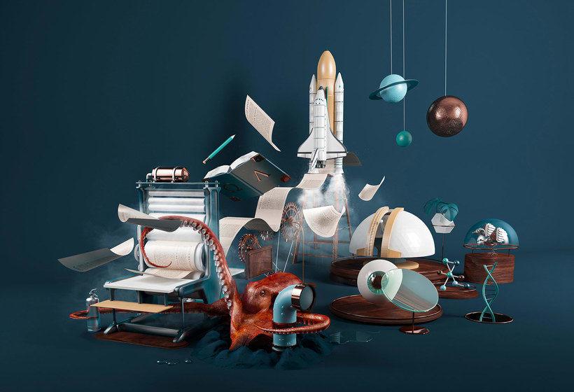 El universo en 3D de Nuria Madrid 1