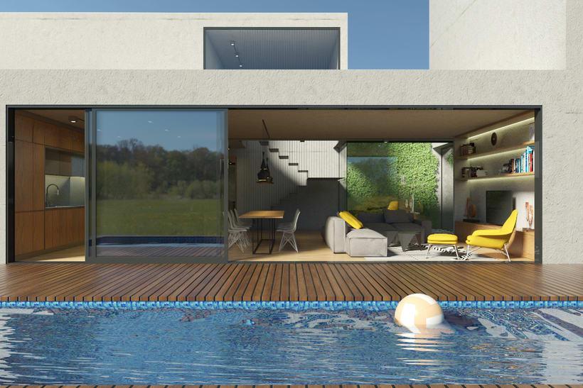 Vivienda unifamiliar con piscina 3