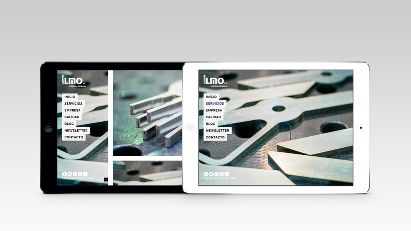 Industrias Ilmo - Diseño Web 3