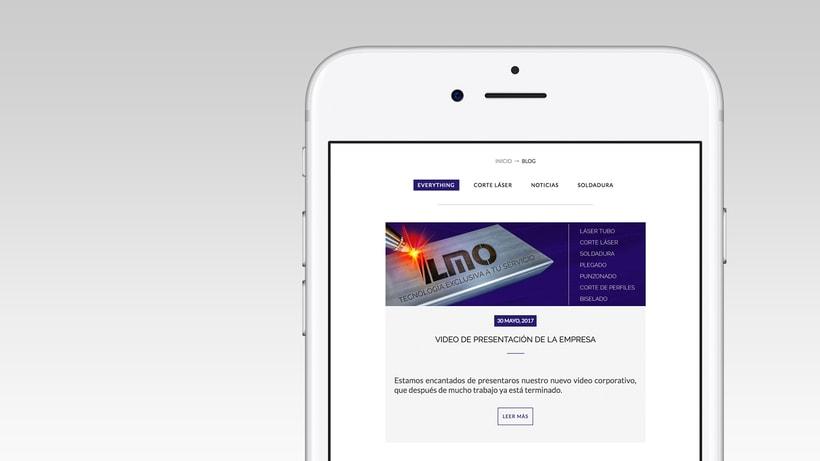 Industrias Ilmo - Diseño Web 4