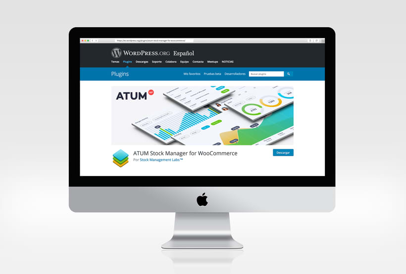 ATUM WordPress Page Banner 1