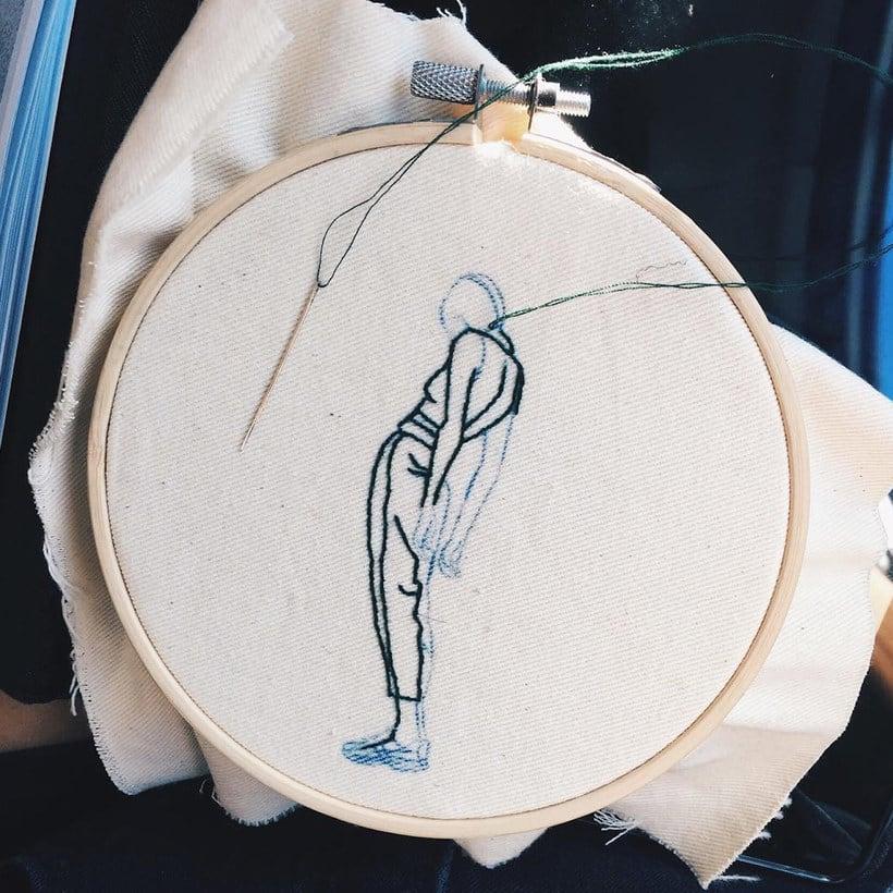 Sheena Liam y los bordados que se pueden peinar 17