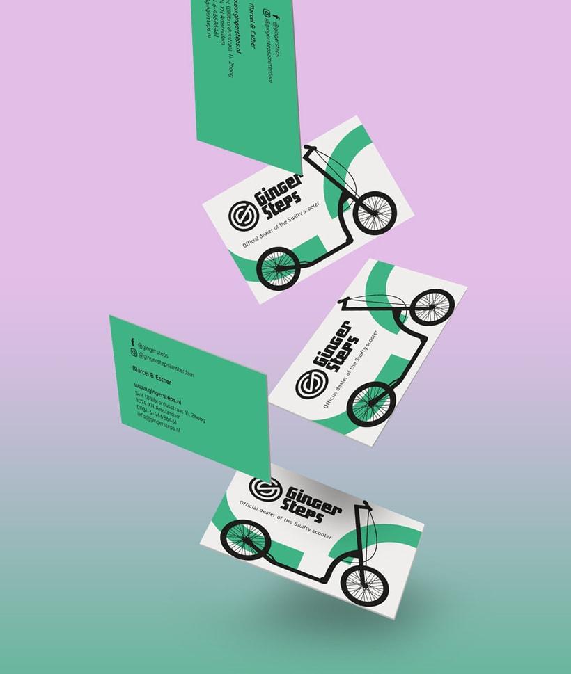 Ginger Steps | Branding 2