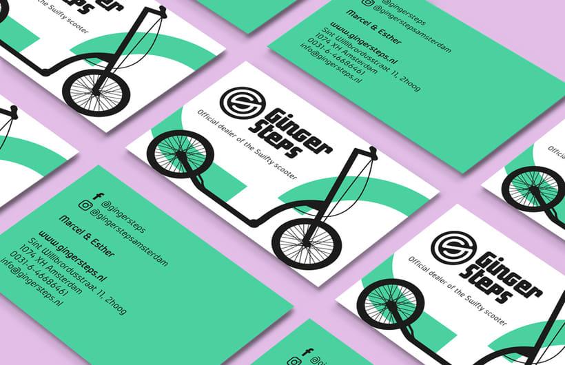 Ginger Steps | Branding 3