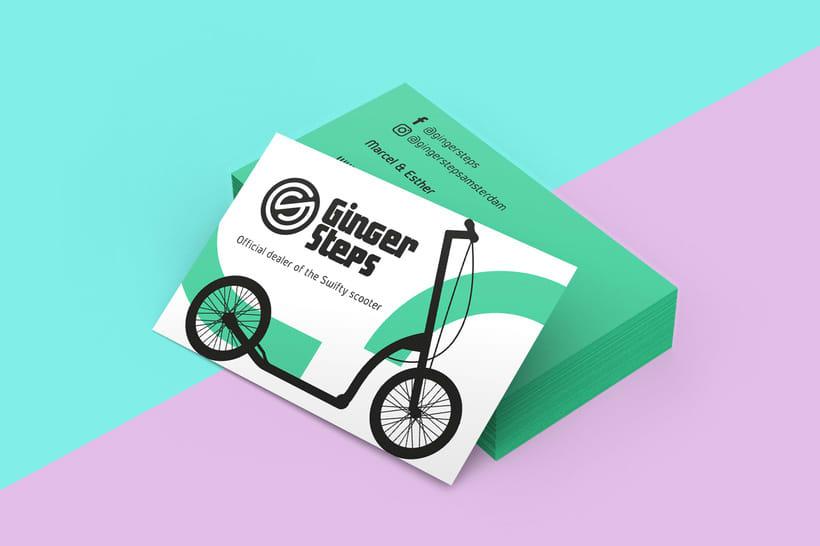 Ginger Steps | Branding 4