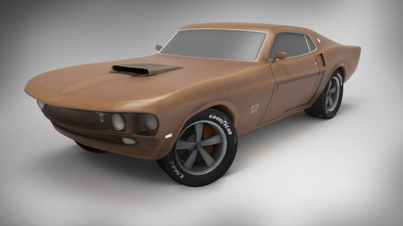 Ford Mustang Boss 429 0