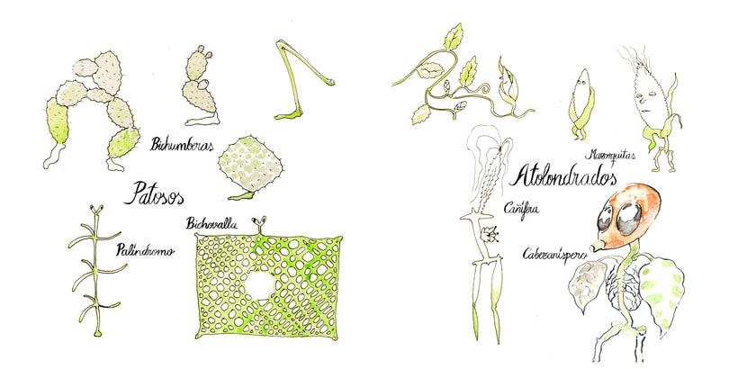 Bestiario fitometamórfico ilustrado del Dr.Chumb 2
