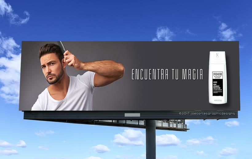 AXE Conceptual Billboard Campaign 0
