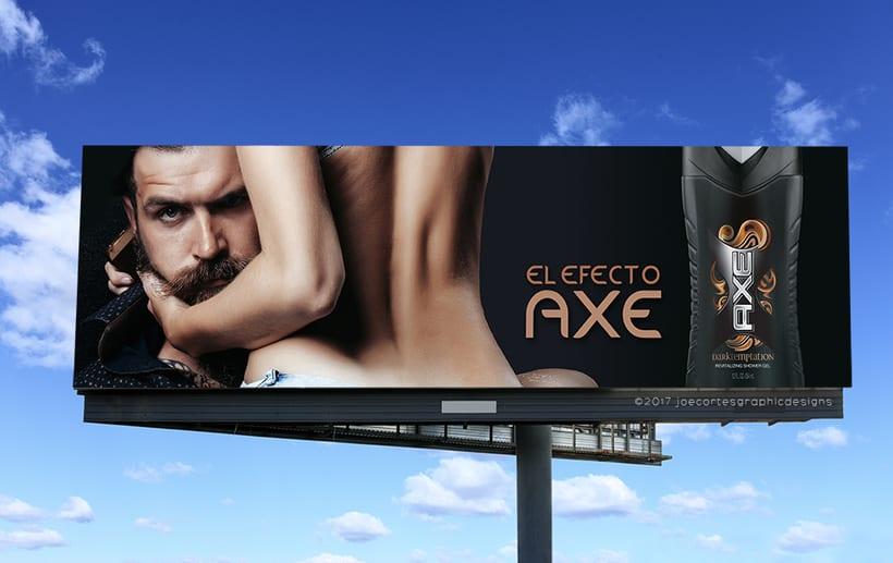 AXE Conceptual Billboard Campaign 1