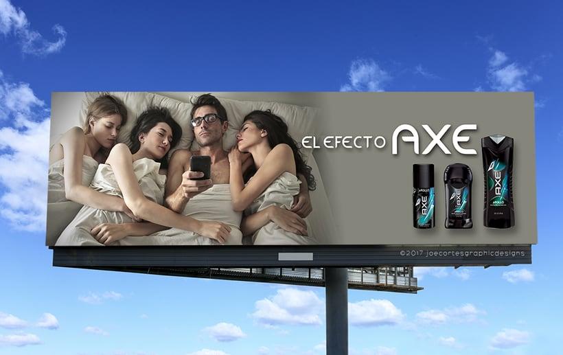AXE Conceptual Billboard Campaign 2