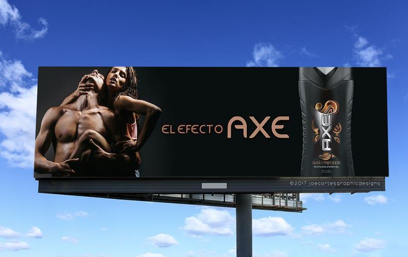 AXE Conceptual Billboard Campaign 3