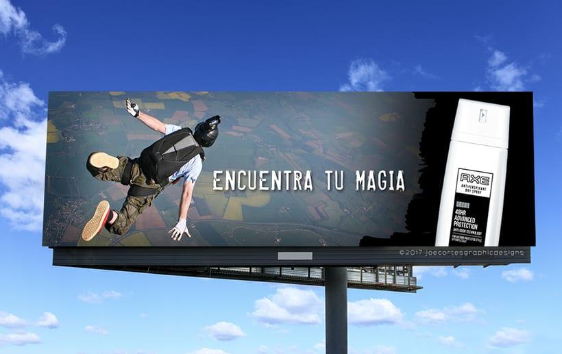 AXE Conceptual Billboard Campaign 4